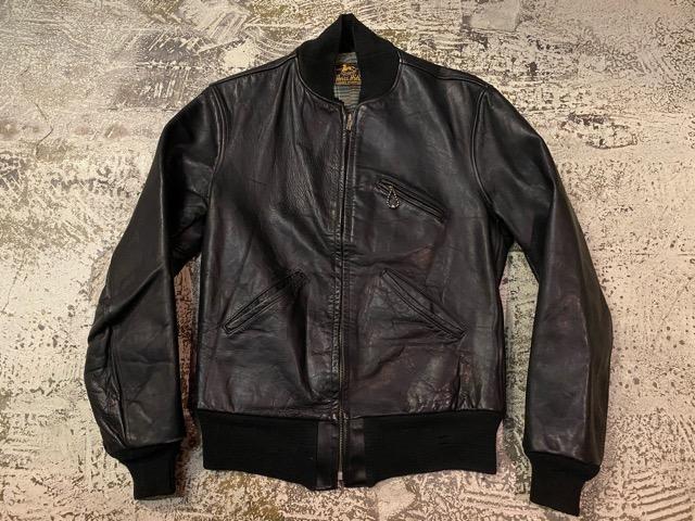 2月26日(水)マグネッツ大阪店ヴィンテージ入荷!!#3 Leather編! D-Pkt MC & Horsehide BallChain、SportsJKT、RED WING Engineer!!_c0078587_152948.jpg