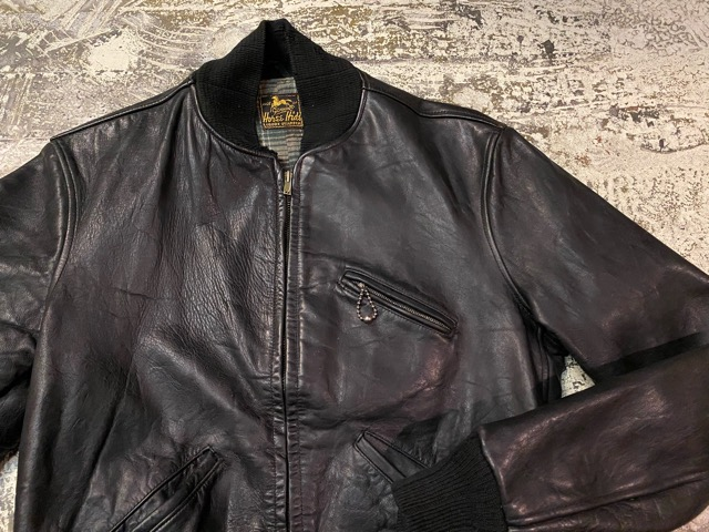 2月26日(水)マグネッツ大阪店ヴィンテージ入荷!!#3 Leather編! D-Pkt MC & Horsehide BallChain、SportsJKT、RED WING Engineer!!_c0078587_16443.jpg