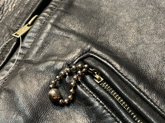 2月26日(水)マグネッツ大阪店ヴィンテージ入荷!!#3 Leather編! D-Pkt MC & Horsehide BallChain、SportsJKT、RED WING Engineer!!_c0078587_182586.jpg