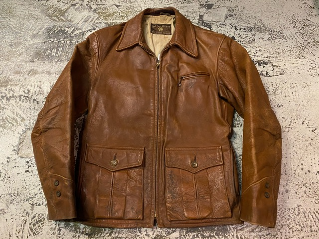 2月26日(水)マグネッツ大阪店ヴィンテージ入荷!!#3 Leather編! D-Pkt MC & Horsehide BallChain、SportsJKT、RED WING Engineer!!_c0078587_194429.jpg