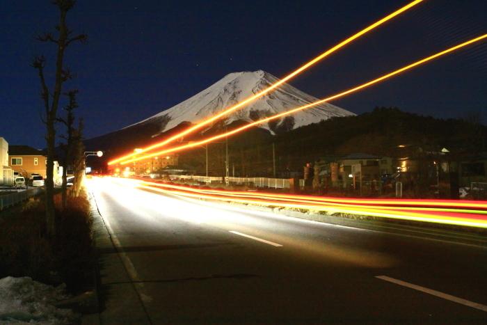 令和2年2月の富士 (14) 富士見バイバス夜の富士_e0344396_13265903.jpg