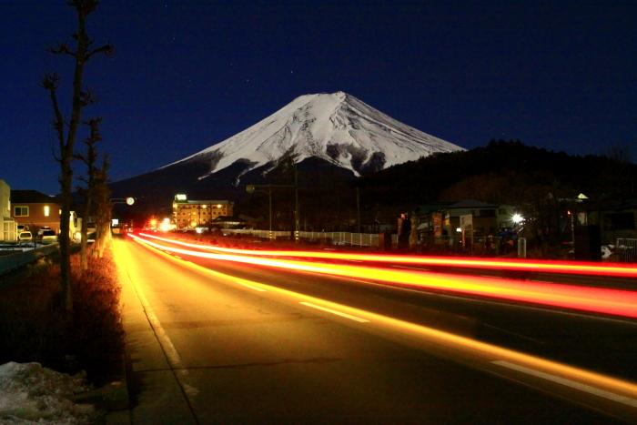 令和2年2月の富士 (14) 富士見バイバス夜の富士_e0344396_13265929.jpg