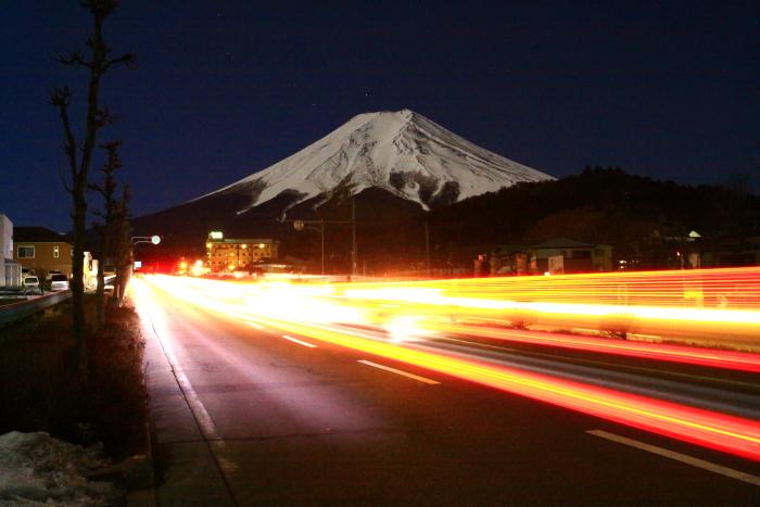 令和2年2月の富士 (14) 富士見バイバス夜の富士_e0344396_13265935.jpg