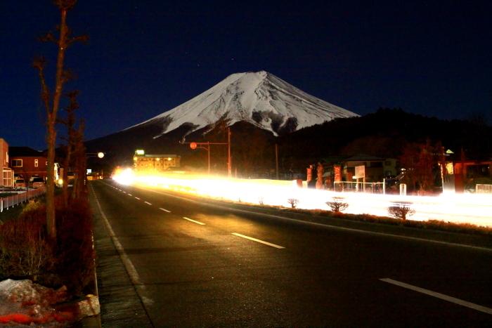 令和2年2月の富士 (14) 富士見バイバス夜の富士_e0344396_13265995.jpg