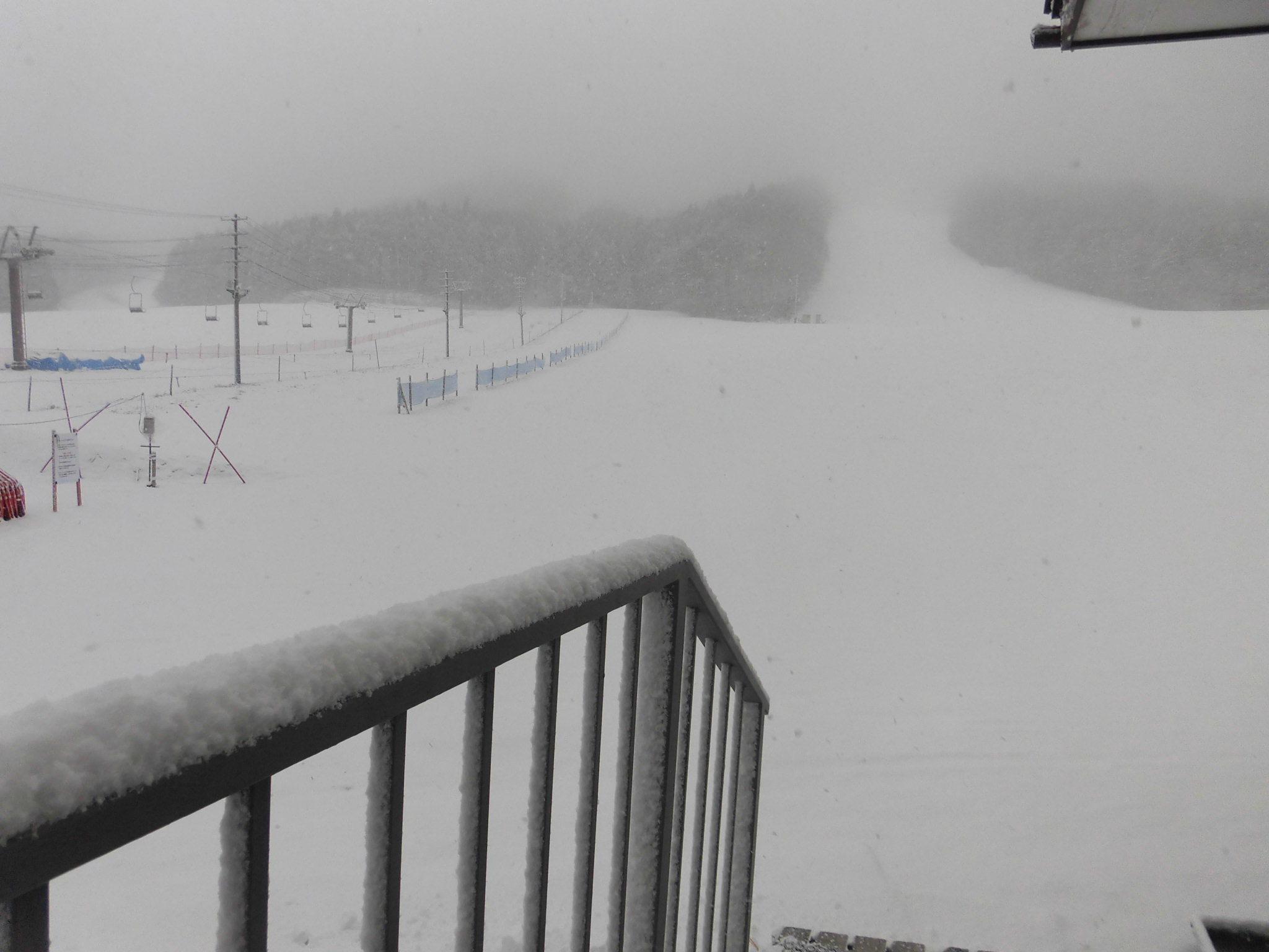 令和2年2月23日(日) 天気:雪 気温:-3℃ 積雪:15㎝ 滑走不能_e0306207_07573113.jpg