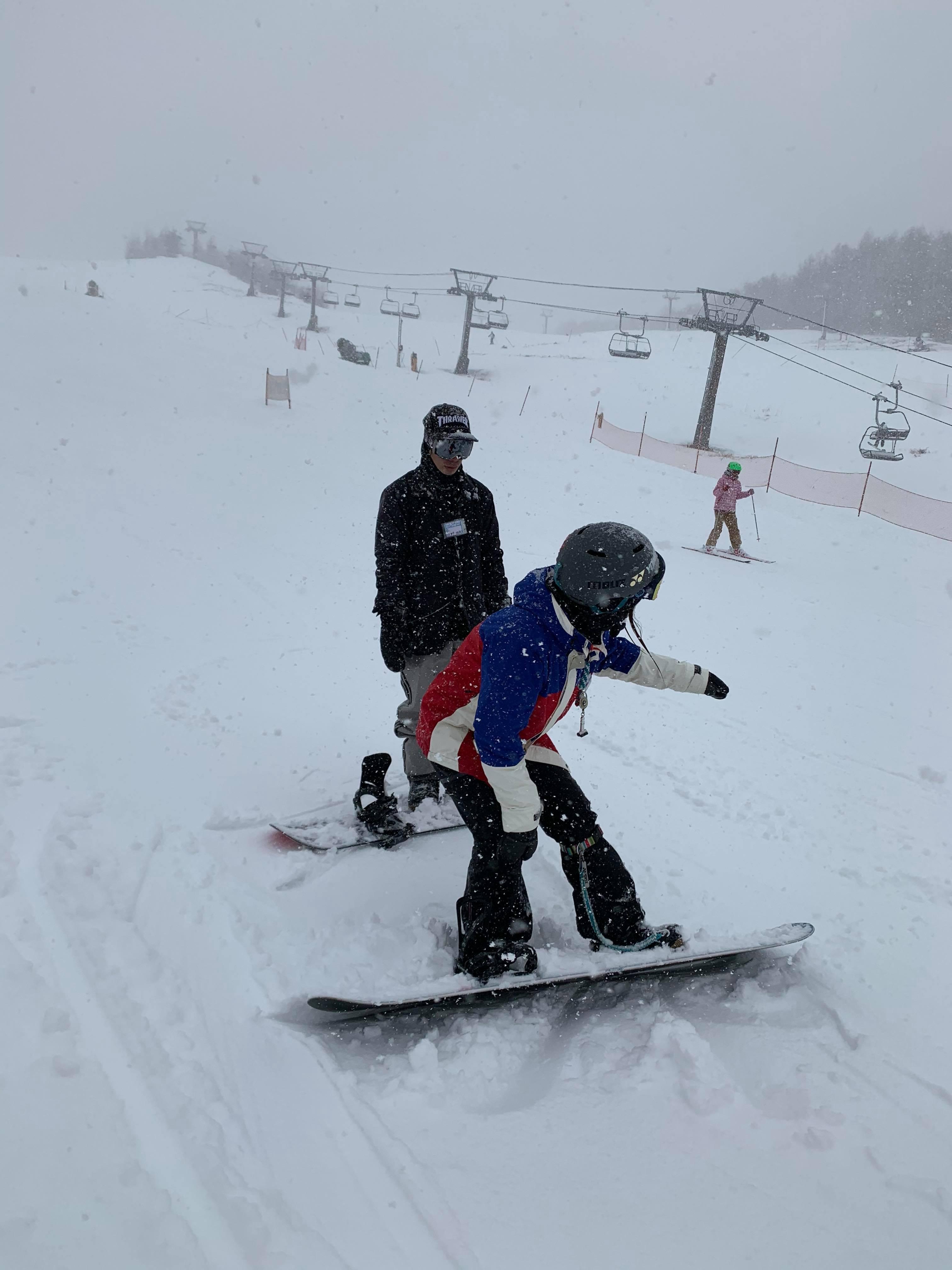 雨だけど滑る雪_a0150315_08190467.jpg