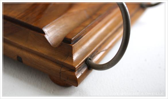 porte lettre et crayon en bois 古い木製のレターラック・ペントレー イギリスアンティーク_d0184921_16334146.jpg