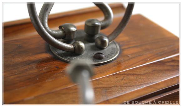 porte lettre et crayon en bois 古い木製のレターラック・ペントレー イギリスアンティーク_d0184921_16345406.jpg