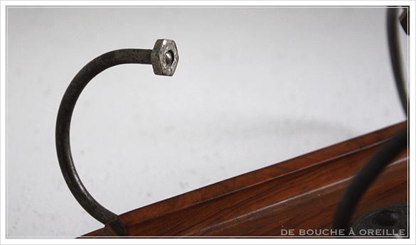 porte lettre et crayon en bois 古い木製のレターラック・ペントレー イギリスアンティーク_d0184921_16391290.jpg