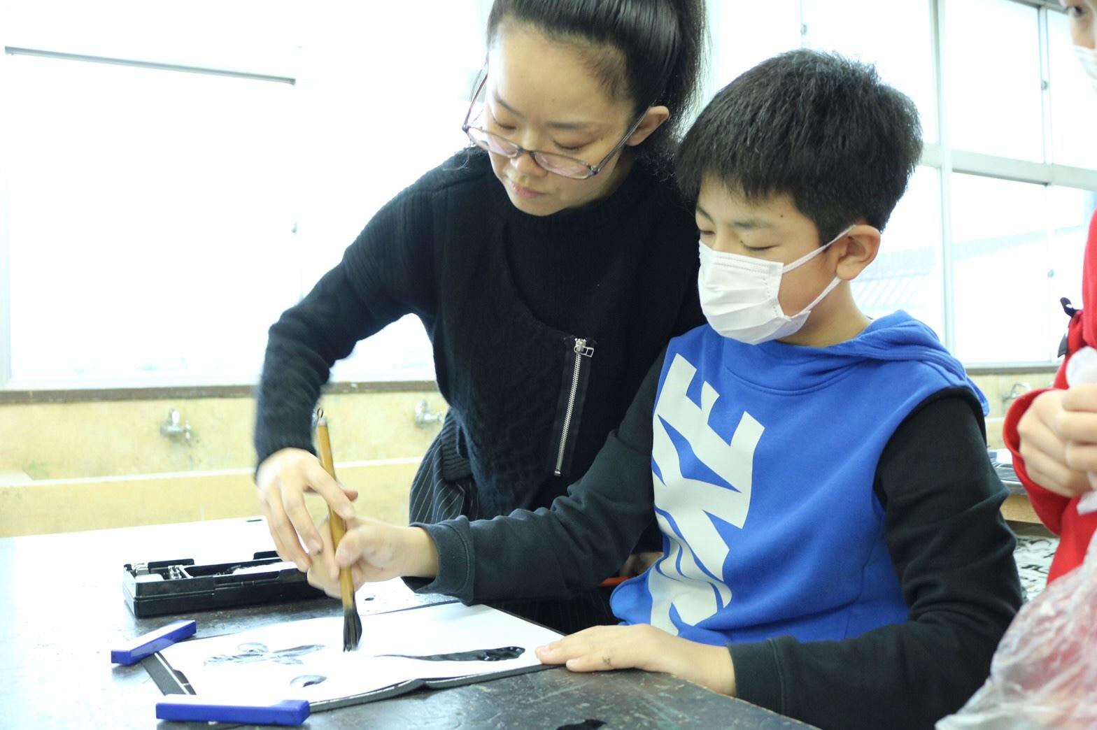 八郎潟小学校へ_e0197227_14415648.jpeg