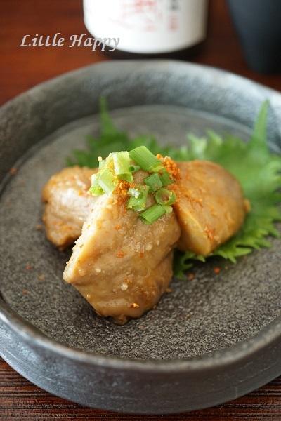あん肝の甘辛煮(レシピ)_d0269651_22490102.jpg