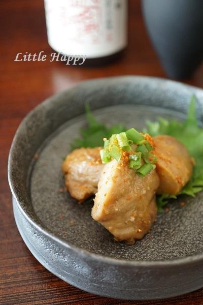 あん肝の甘辛煮(レシピ)_d0269651_23040521.jpg