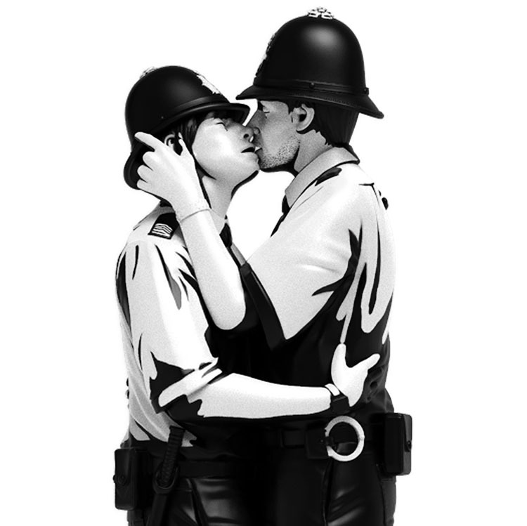 Banksy\'s Kissing Coppers by Brandalised_e0118156_15554285.jpg