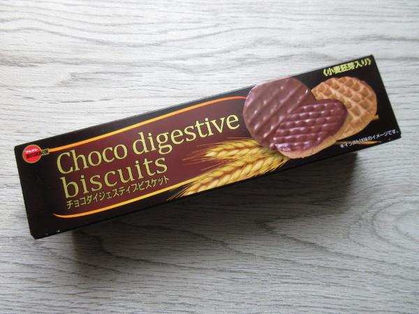 【ブルボン】チョコダイジェスティブビスケット_c0152767_12515125.jpg