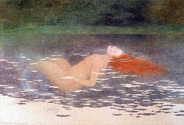 Boutet de Monvel画の人魚_c0084183_17235463.jpg