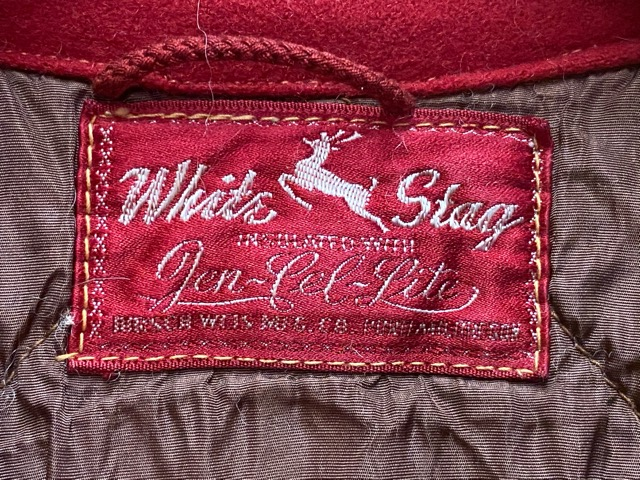 2月26日(水)マグネッツ大阪店ヴィンテージ入荷!!#4 Hunting編! 50\'s RED WING #877 & 50\'s CorkSole、MASLAND FishingJkt!!_c0078587_1972026.jpg