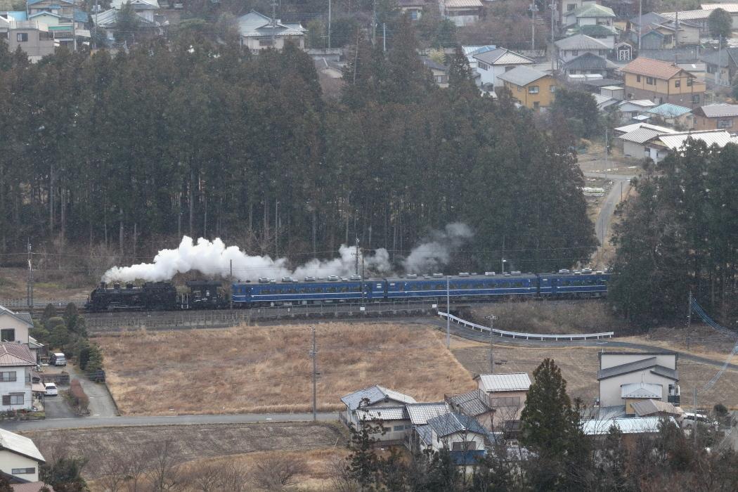 雪が舞う朝の白煙 - 2020年・東武鬼怒川線 -_b0190710_17310790.jpg