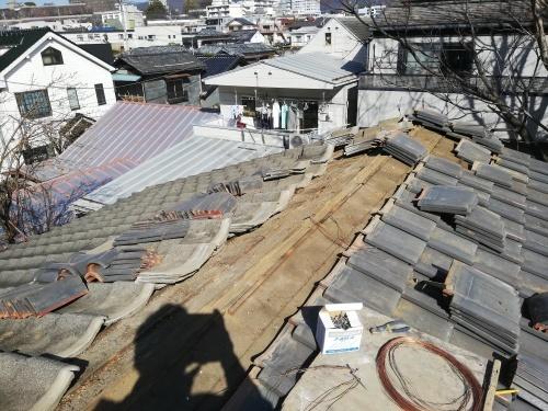 甲府市 シルバーの屋根 _b0242734_19432827.jpg
