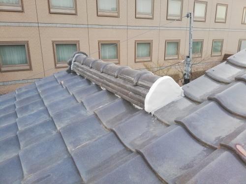 甲府市 シルバーの屋根 _b0242734_19514397.jpg