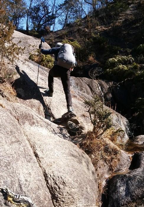 奇岩の山、金勝(こんぜ)アルプスを歩きました_c0038434_22562865.jpg