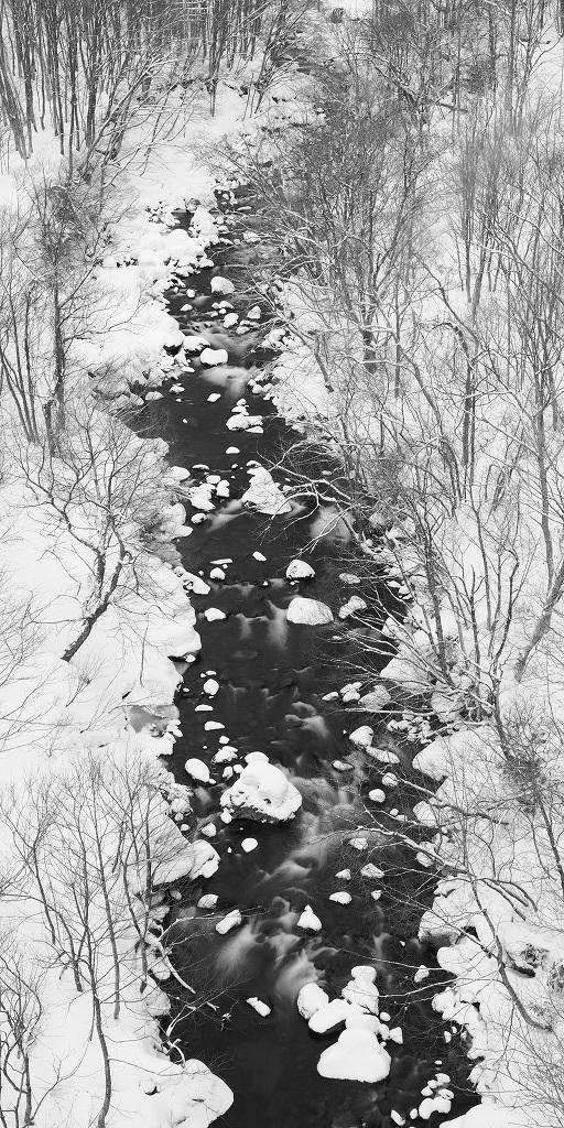 鳥海山麓冬景色_f0050534_23355735.jpg