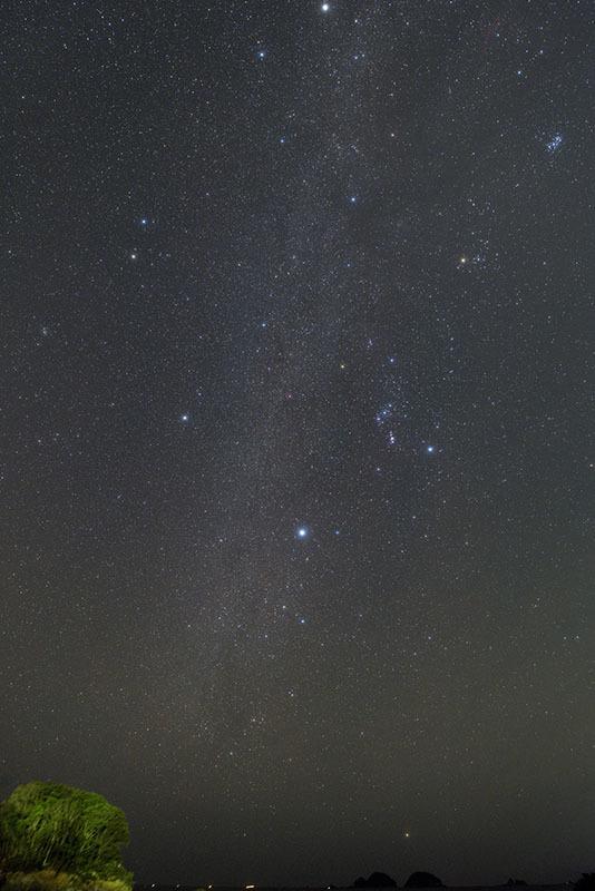 冬のダイヤモンドとカノープス_b0287335_10575073.jpg