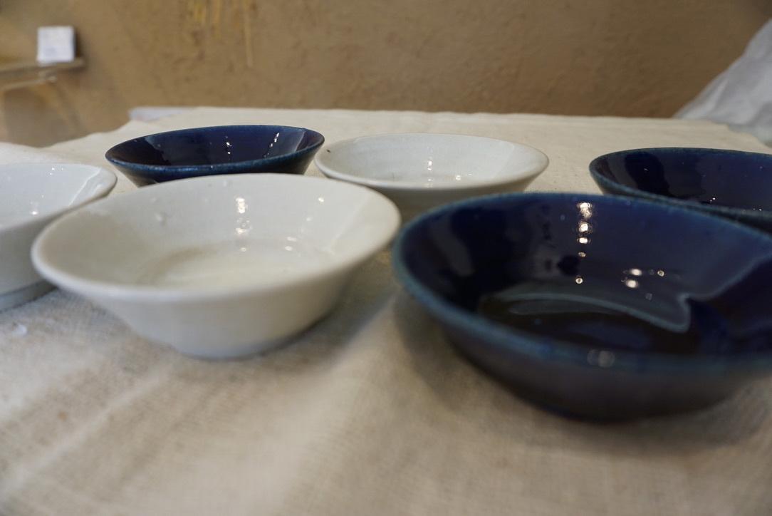 臼田けい子さんの瑠璃といす灰釉のうつわ 届きました_b0132442_14284401.jpeg