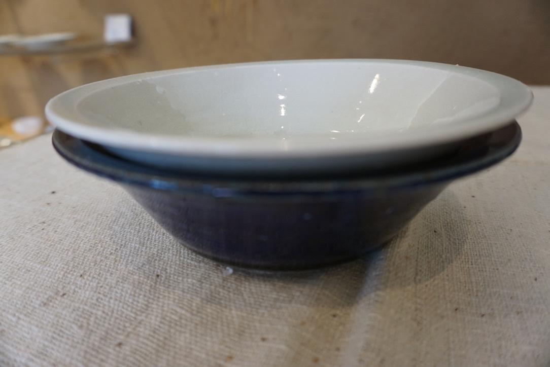 臼田けい子さんの瑠璃といす灰釉のうつわ 届きました_b0132442_14285525.jpeg