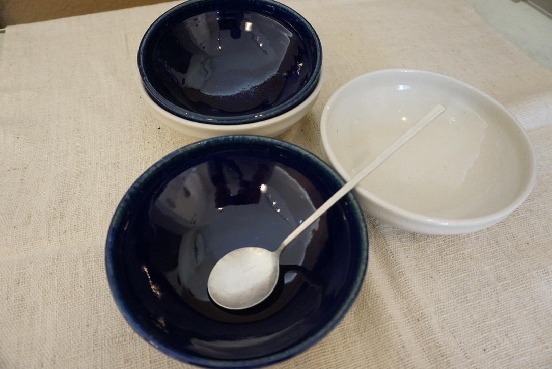 臼田けい子さんの瑠璃といす灰釉のうつわ 届きました_b0132442_14291329.jpeg