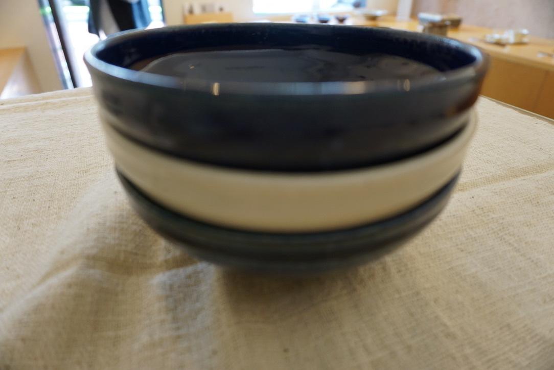 臼田けい子さんの瑠璃といす灰釉のうつわ 届きました_b0132442_14291697.jpeg