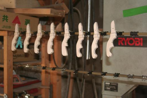 バスリコーダー用エンドピンの製作 #450〜4_e0064847_19220183.jpg