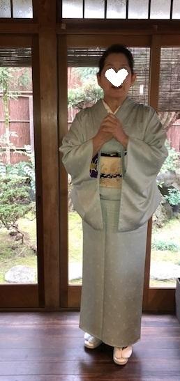 新年会・ご自分で仕立てられた着物に、宝尽くしの八掛。_f0181251_19032633.jpg