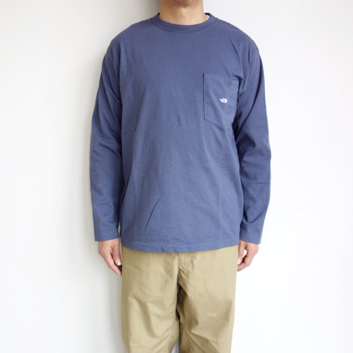 THE NORTH FACE PURPLE LABEL : 7oz L/S Pocket Tee_a0234452_15012619.jpg