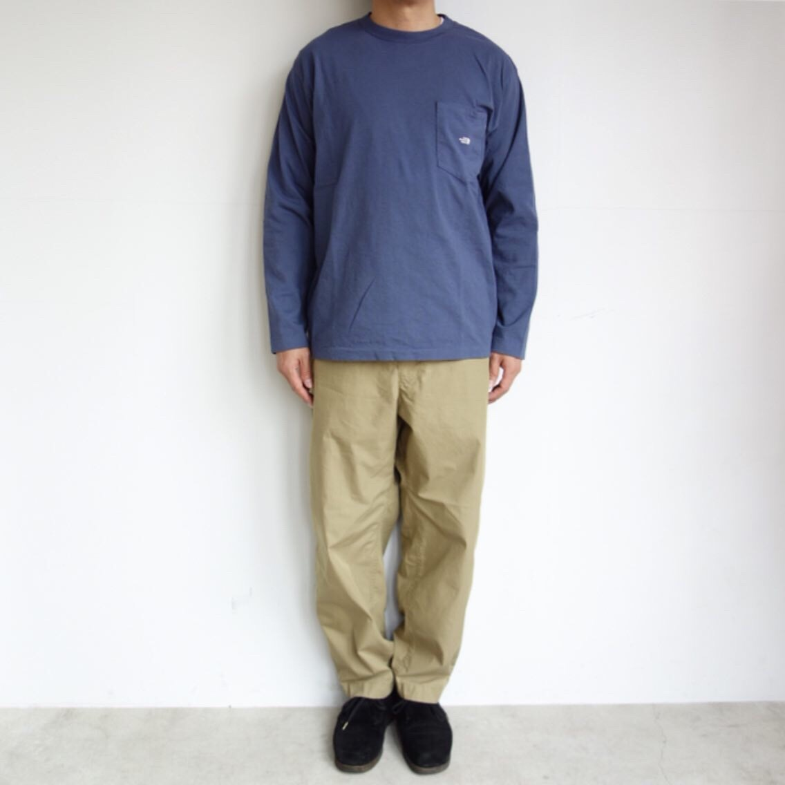 THE NORTH FACE PURPLE LABEL : 7oz L/S Pocket Tee_a0234452_15013751.jpg