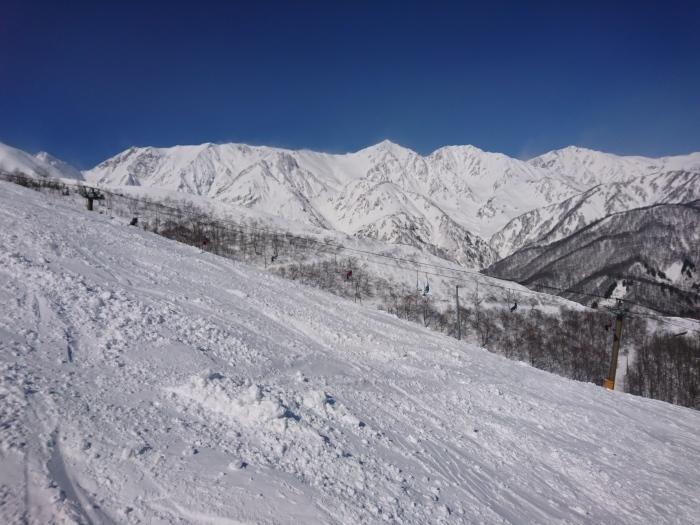 2月24日   八方尾根スキー場_f0223068_16505557.jpg