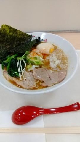 2月23日 公津の杜駅近く 鶏そばやま木_b0331070_21444871.jpg