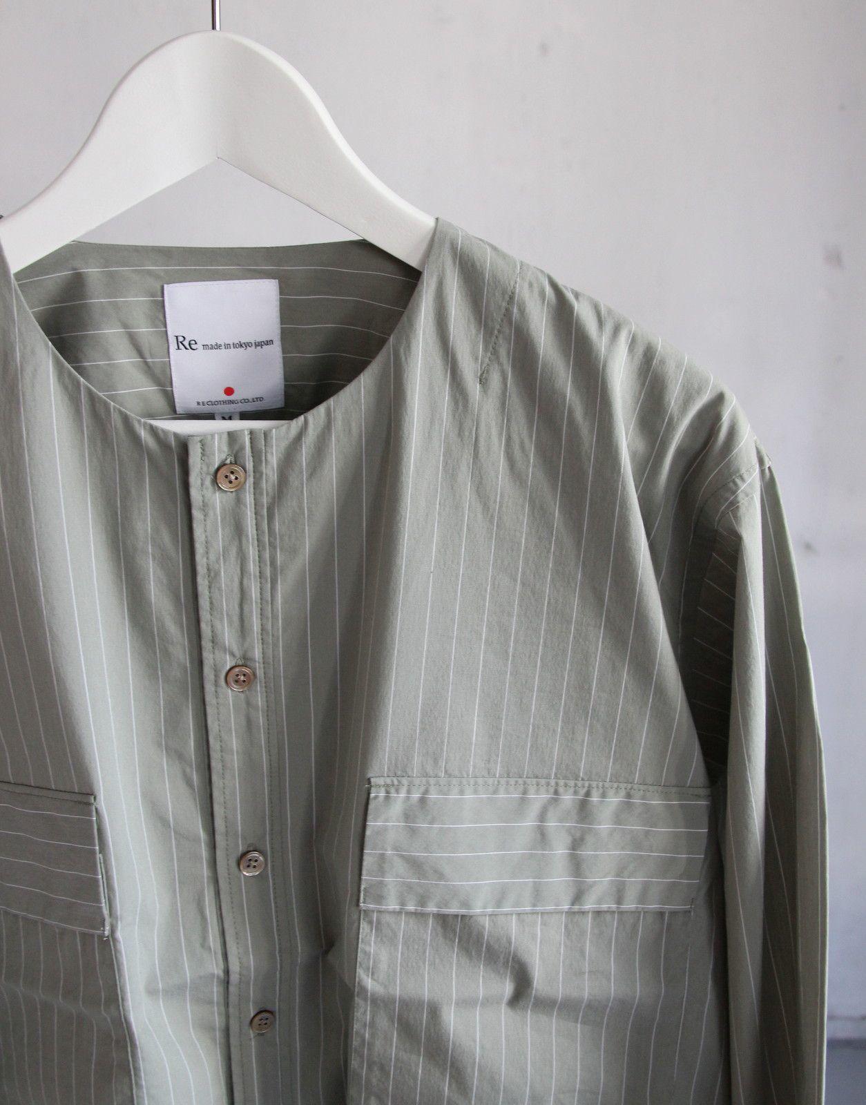 Cotton Nylon Broad Shirt Cardigan_c0379477_17014202.jpeg