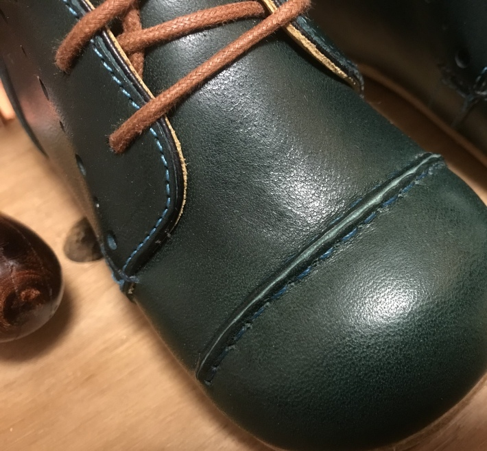 靴を作る 「ベビーシューズを作る 2」_e0197577_10104276.jpeg