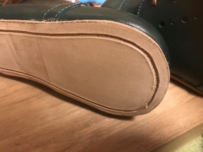 靴を作る 「ベビーシューズを作る 4」_e0197577_10484886.jpeg