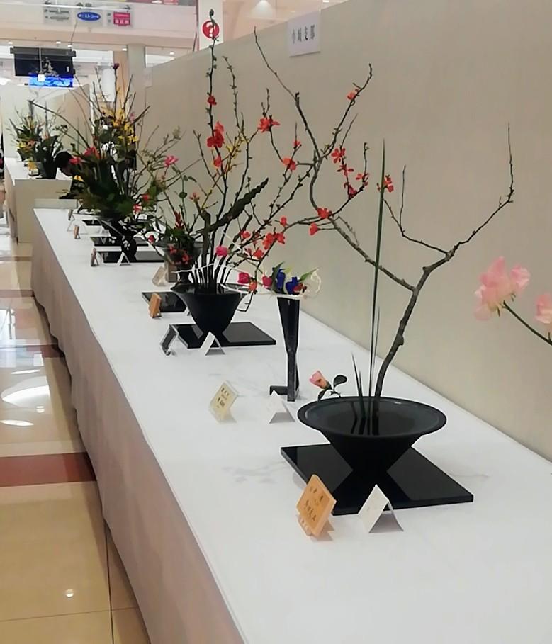 池坊佐賀県連合支部創立100周年記念いけばな池坊展 前期_d0195183_00144987.jpg