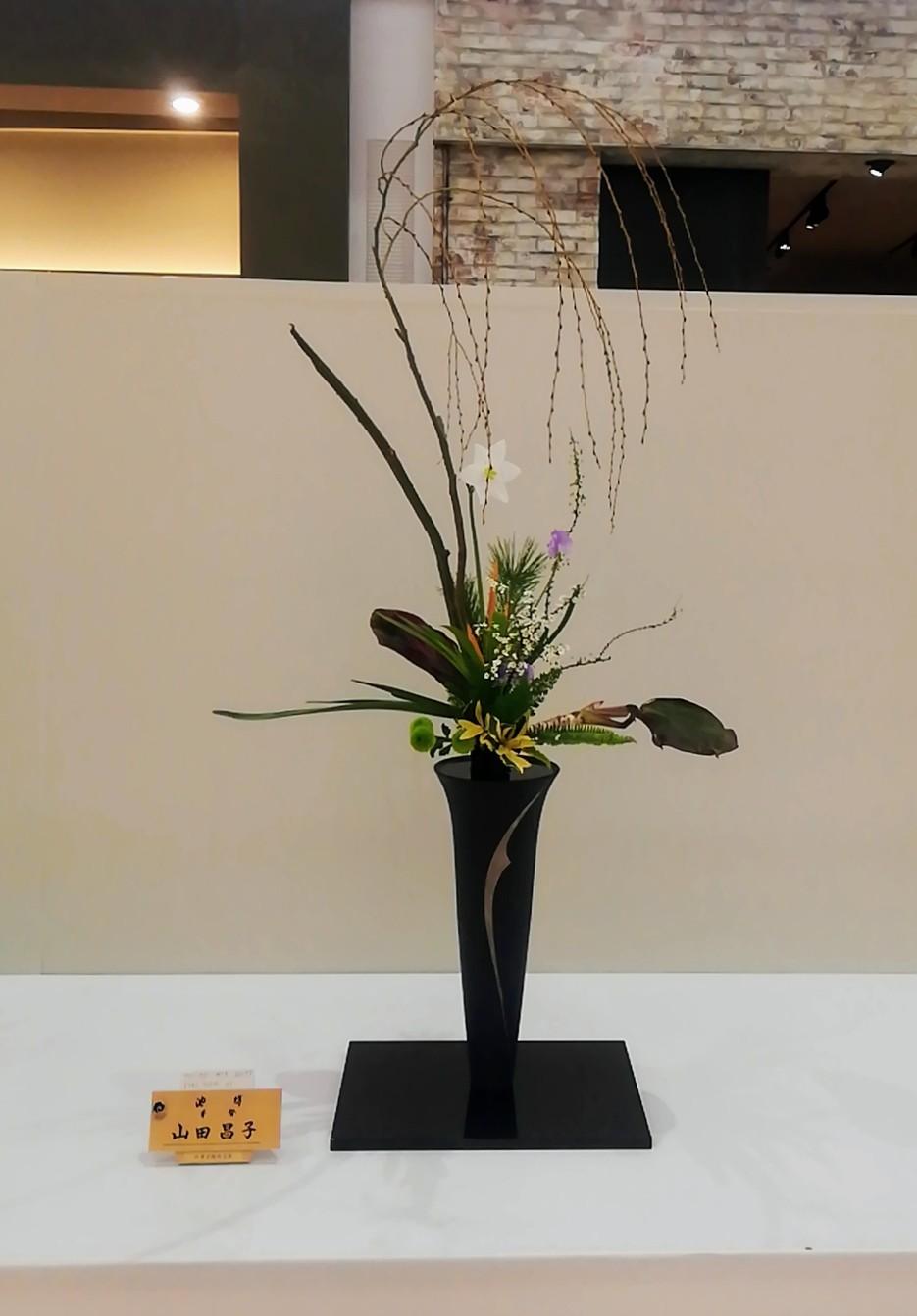 池坊佐賀県連合支部創立100周年記念いけばな池坊展 後期_d0195183_21561152.jpg