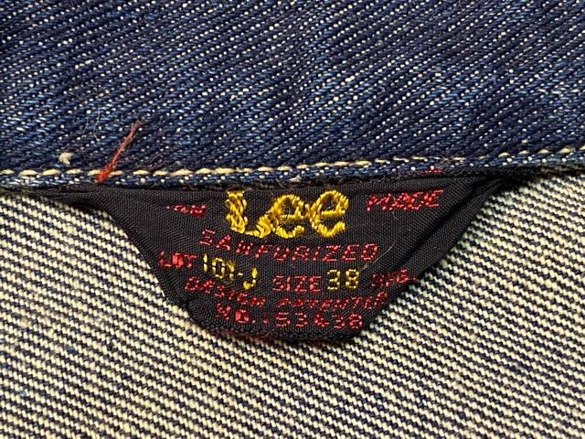 2月26日(水)マグネッツ大阪店ヴィンテージ入荷!!#7 Levi\'s、Wrangler、Lee編! 507XX 2nd & 50s 11MJZ、50\'s 101-J 、~50\'s MILLER!!_c0078587_1564995.jpg