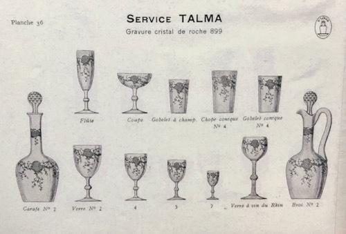 ST-LOUIS  TALMA タルマ 金彩 タンブラー-_c0108595_23304227.jpeg