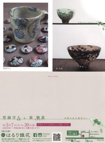 はるり銀花(川越市)での二人展のお知らせ_c0212902_16293800.jpg