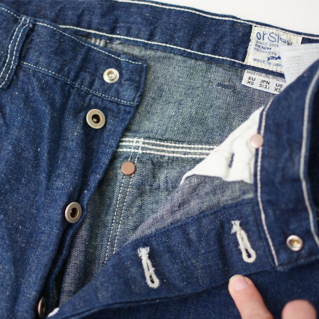 orslow [オアスロウ] M PAINTER PANTS DENIM [one wash] [01-5120-81]ペインターパンツデニム・ワンウォッシュ ・ワイドパンツ・MEN\'S _f0051306_15041856.jpg