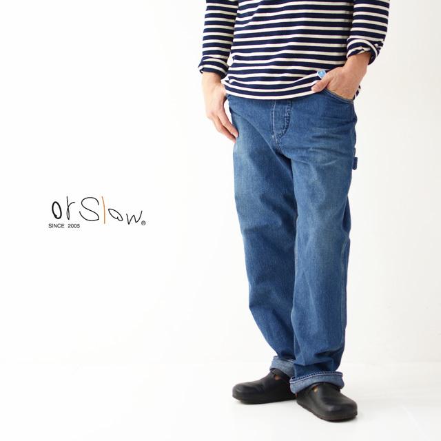 orslow [オアスロウ] M PAINTER PANTS [USED] [01-5120-95] ペインターパンツ・ユーズド・デニムパンツ・MEN\'S _f0051306_15335448.jpg