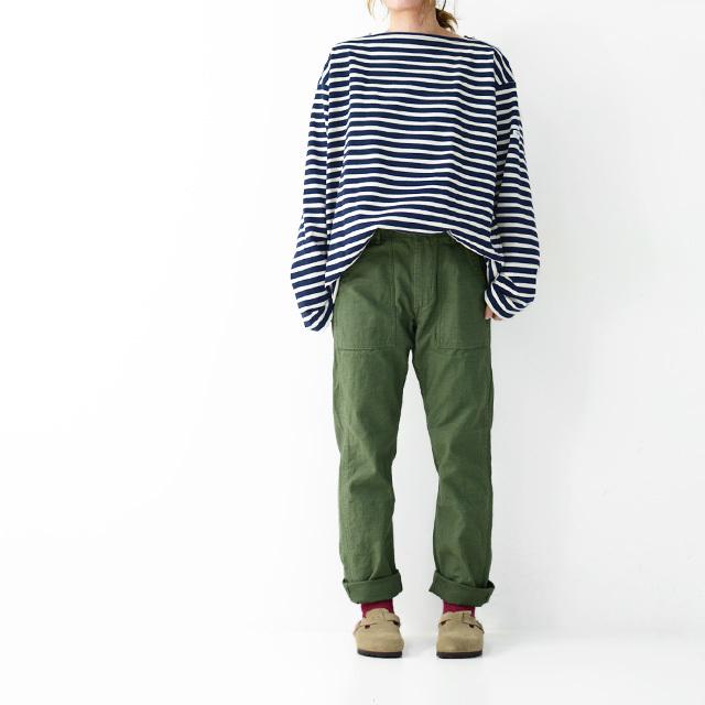orslow[オアスロウ] W SLIM FIT FATIGUE PANTS [01-5032-16] スリムフィット ファティーグパンツ LADY\'S _f0051306_16101233.jpg