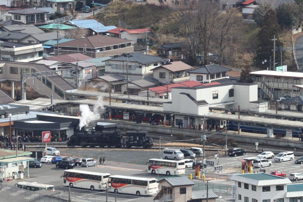 転車台には人だかり - 2020年・東武鬼怒川線 -_b0190710_22163815.jpg
