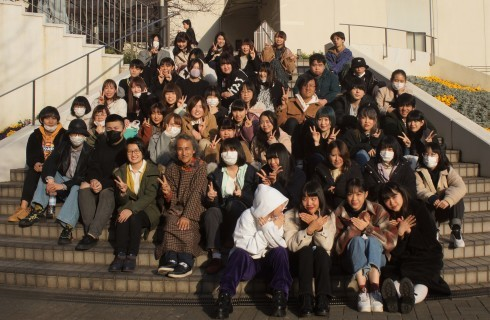 文化学園大学・写真実習・月曜クラス最終授業での記念写真_f0006713_07405621.jpg