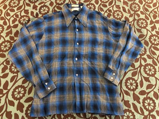 アメリカ仕入れ情報#9 60s オンブレーシャツ2点出ました!_c0144020_12152523.jpg